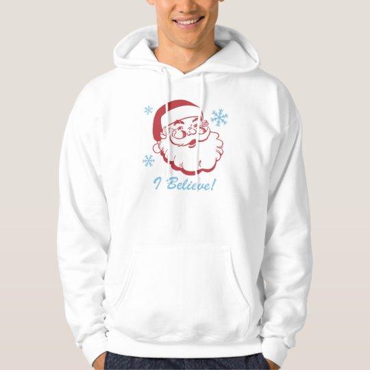 Retro Santa Believe Hoodie