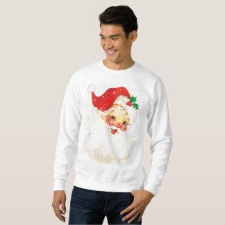Retro Santa Christmas Xmas Jumper Sweater