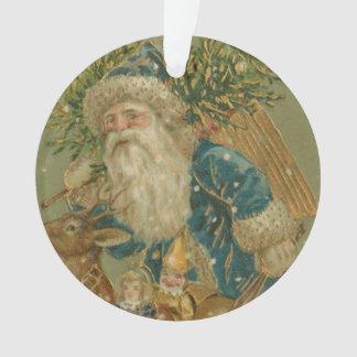 Retro Santa Claus from 1900's Ornament