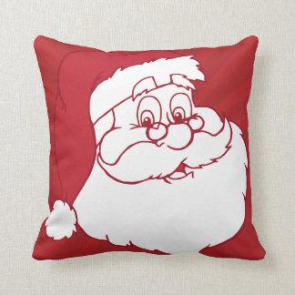 Retro Santa Claus Pillow