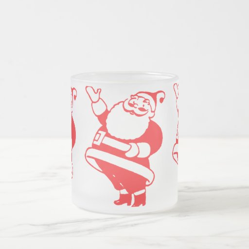 Retro Santa Mug