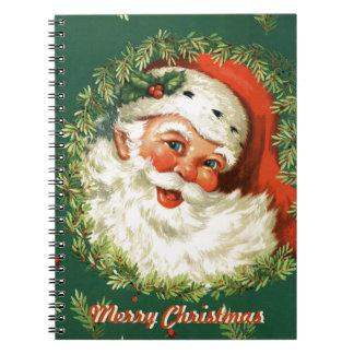 Retro Santa Photobook Notebook