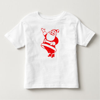 Retro Santa Toddler T-shirt