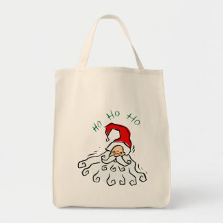 Retro Santa Tote Bag
