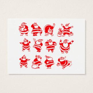 Retro Santas Gift Tag