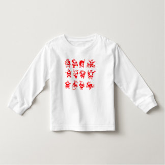 Retro Santas Toddler T-shirt