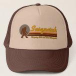 "Retro Sasquatch Hide and Seek Champion Trucker Hat<br><div class=""desc"">Sasquatch is the undisputed hide and seek champion.</div>"