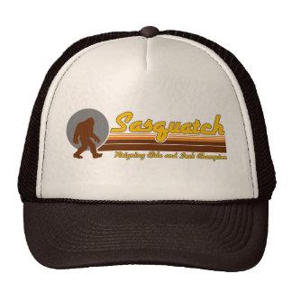 Retro Sasquatch Hide and Seek Champion Trucker Hat