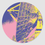 Retro Satellite Dish Stickers