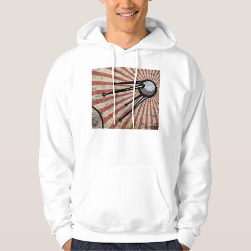 Retro satellite hoodies