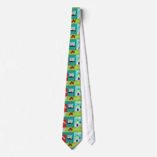 Retro Saturday Morning Neck Tie