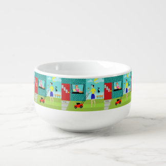 Retro Saturday Morning Soup Mug