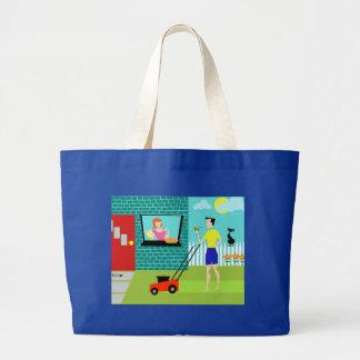 Retro Saturday Morning Tote Bag