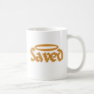 Retro Saved Christian Design Coffee Mug