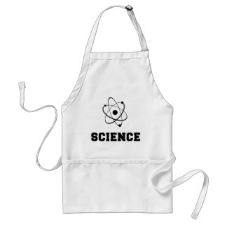 Retro Science Academy Adult Apron