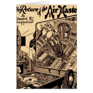 Retro Science Fiction Return of the Air Master Card