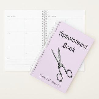 Retro Scissors Hairsalon Appoinment Book / Planner