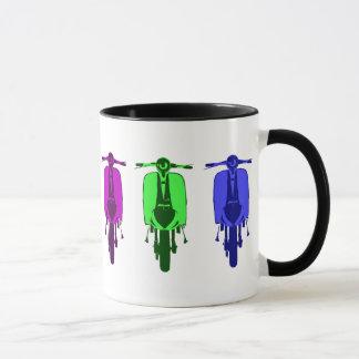 Retro Scooter Pop art version Mug