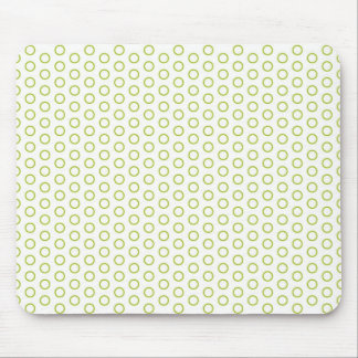 retro scores pünktchen polka dots dab dabbed mouse pad