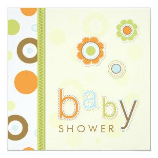 Retro Scrapbook Baby Shower invitation