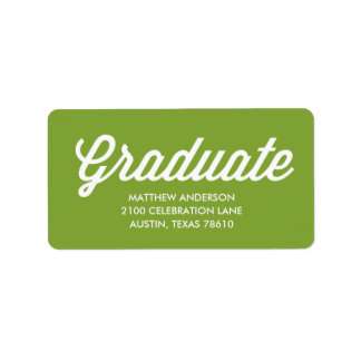 Graduation Labels