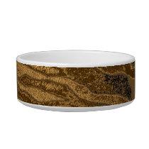 Retro seamless animal fur texture 4 bowl