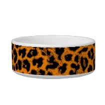 Retro seamless animal print texture 2 bowl