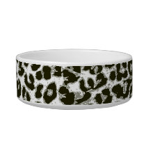 Retro seamless animal print texture 3 bowl