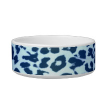 Retro seamless animal print texture bowl