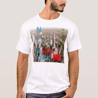 Retro Sepia New York City T-Shirt