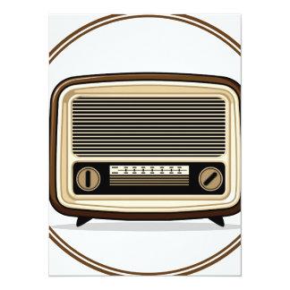 Retro Set - Old Radio Card
