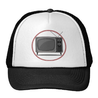 Retro Set - Old Television Trucker Hat
