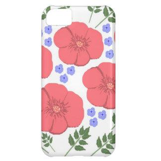 Retro Seventies floral design Case For iPhone 5C