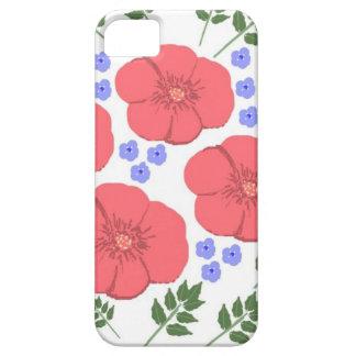 Retro Seventies floral design iPhone 5 Covers