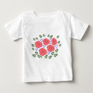 Retro Seventies floral design Infant T-shirt