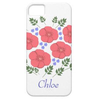 Retro Seventies floral design iPhone cases iPhone 5 Cover