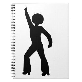Retro Seventies Man Note Book