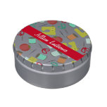 Retro Sewing Theme Personalized Jelly Belly™ Tin Jelly Belly Candy Tin