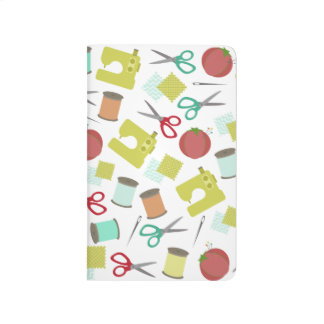 Retro Sewing Themed Journal