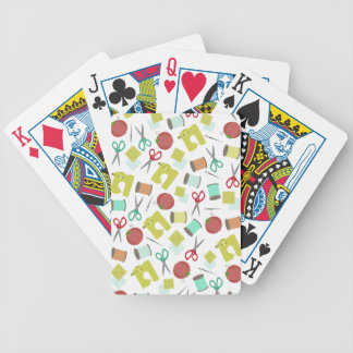 Retro Sewing Themed Playing Cards Bicycle Playing Cards
