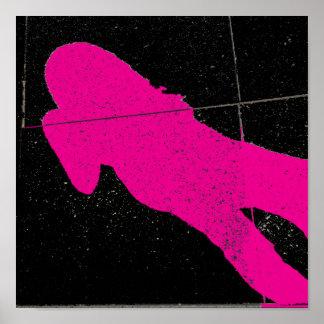 Retro Shadow Poster