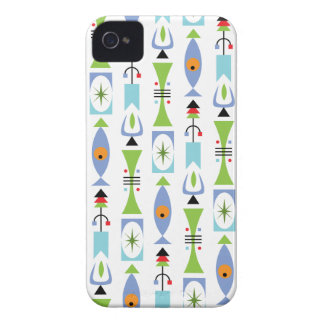 Retro Shapes iPhone 4 Cover