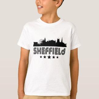 Retro Sheffield Skyline T-Shirt