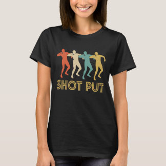 Retro Shot Put Pop Art T-Shirt