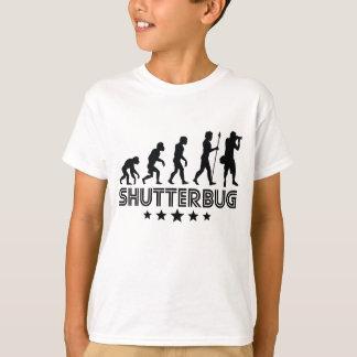Retro Shutterbug Evolution T-Shirt
