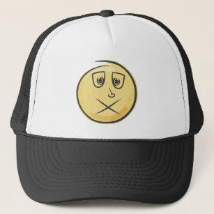 Retro Sick Emoji Trucker Hat 9f8e423cb50