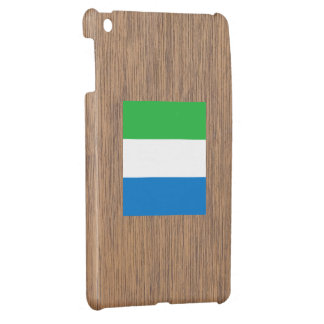 Retro Sierra Leone Flag Case For The iPad Mini