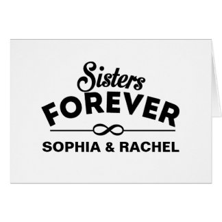 Retro - Sisters Forever Card