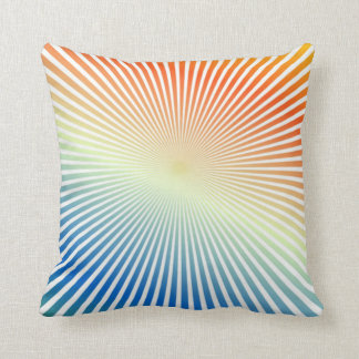 Retro Sixties Design Throw Pillow