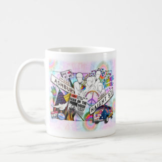 Retro Sixties Hippie Cups & Mugs
